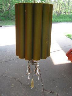 vintage hanging swag lamp. $65.00, via Etsy.