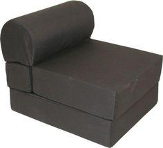 Adult Jr.Twin Studio Folding Futon/Chair Sleeper