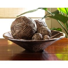 Decorative Balls For Bowls Island Memories Decorative Centerpiece Bowl Very Pretty For My