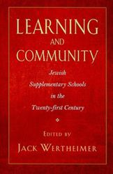 There aren't enough good stories about after-school programs, and this new volume edited by Jack Wertheimer of the Jewish Theological Seminary establishes high achievement marks for everyone with an investment in an after-school program of Jewish studies, from educators to parents and students.
