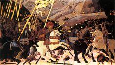Paolo Uccello | Niccolò da Tolentino Leads the Florentine Troops – Battle of San Romano
