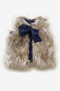 Anthem of the Ants Faux Fur Vest