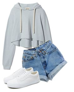 """Lazy"" by pyatt184 ❤ liked on Polyvore featuring Vans"