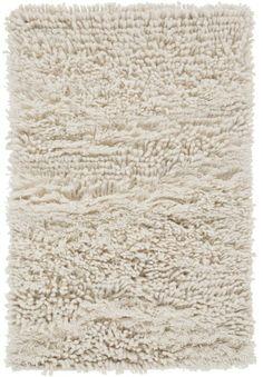 Surya BRK-3300 Berkley Hand Woven New Zealand Wool Rug Off-White