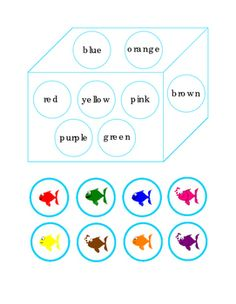 Cut+and+Paste+Match+Fish+Colors+to+Color+Words+Blue,+Orange,+Red,+Yellow,+Pink,+Brown,+Purple,+and+Green.+Great+for+Life-Skills,+ELA,+Reading+Journal+Supplement.+ELA+Activity+Worksheet+Literacy+Center+Printable.+Spring+Fish+Colors.+Improve+Fine+Motor+Skills+with+Cut+and+Paste+Matching.+1+page.+