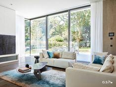 Interior design project by studio a.s.h. Villa Design, Living Spaces, Living Room, Modern Classic, Design Projects, Ash, Windows, Interior Design, Studio
