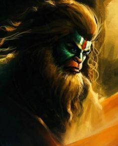 Image may contain: 1 person Hanuman Photos, Hanuman Images, Rama Lord, Lord Anjaneya, Angry Lord Shiva, Hanuman Ji Wallpapers, Shiva Tandav, Krishna, Hanuman Chalisa