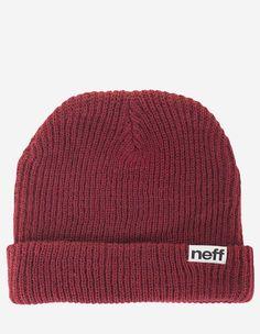Neff - Fold Beanie maroon