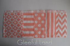 Glassine Paper Bag  50 Mod Print/Stripe/Polka by GleefulLand, $8.50