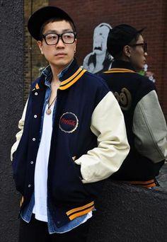 baseball jacket | Tumblr | Couture Vulture x Haddington District ...