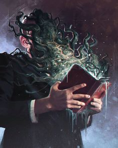 Necronomicon Lovecraft, Lovecraft Cthulhu, Hp Lovecraft, Cthulhu Art, Call Of Cthulhu Rpg, Arte Horror, Horror Art, Dark Fantasy Art, Dark Art