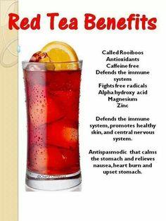 Red teas (rooibos)