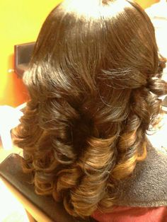 Color Added Sew In style