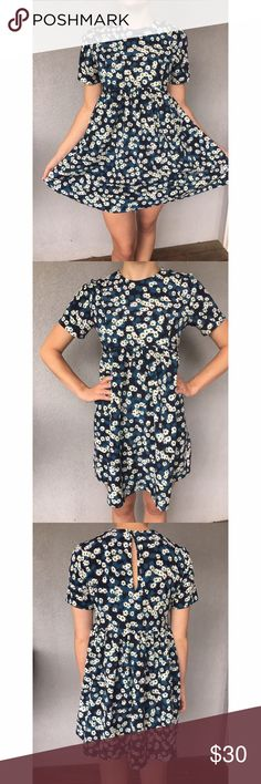 Oh My Love Floral Babydoll Dress So adorable! New without tags. 100% polyester. Oh My Love  Dresses Mini