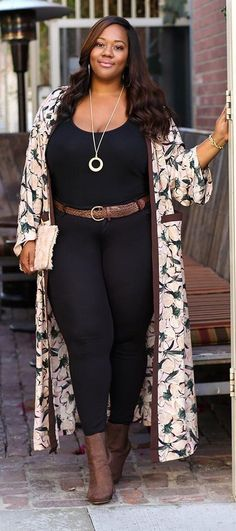 Well, if the leggings were jeans it would be better and I like the coat or whatever it is.