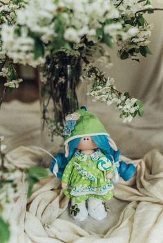 Design, StoffPuppe, Handgemachte, Art & Deko Doll, Geburtstag, Hochzeit, Muttertag, Jubileum, Fee Etsy, Blanket, Vintage, Gift, Design, Fairy, Mother's Day, Craft Gifts, Puppets