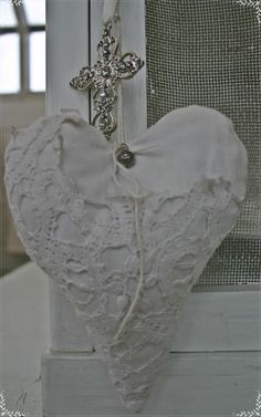 Plaster  hearts