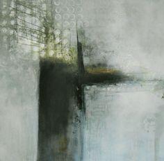 Die Sehnsucht nach Olivenbäumen, abstrakte Kunst, abstrakte Malerei, 100/100 cm