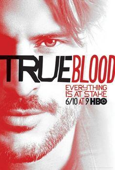 Joe Manganiello (Alcide Herveaux) - True Blood poster