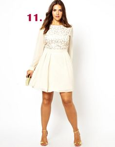 Looking for a dress for the holidays? Check out this one and 44 others on The Curvy Fashionista!