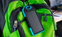 Power bank de 5000mAh con panel solar en color a elegir por 12,99 € (hasta 66% de descuento)