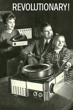 Kodak Carousel, 1962.  This is how we viewed our family slideshows.