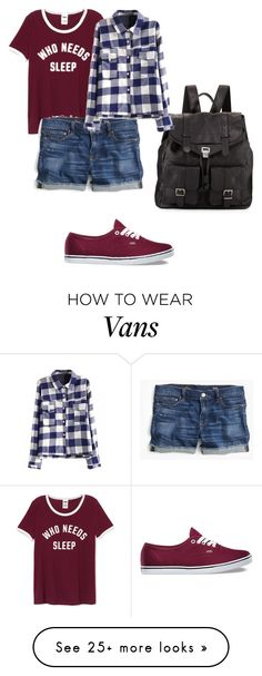 """""""Hipster"""" by bellasofia101 on Polyvore featuring Vans, J.Crew and Proenza Schouler"""