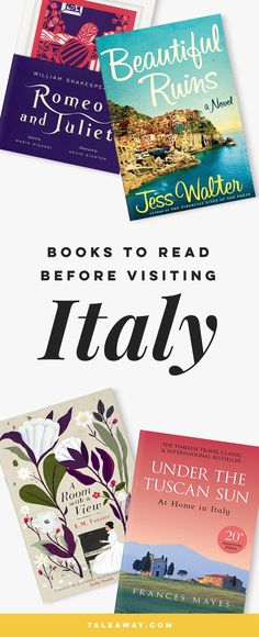Books Set In Italy. Italian books that inspire travel, visit www.taleway.com for books set around the world. italian books, books about italy, italy inspiration, italy travel, novels set in italy, italian novels, books and travel, travel reads, reading list, books around the world, books to read, italy, books set in different countries