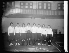 War Risk basketball team, 1919 or 1920. National Photo Company Collection, Library of Congress Prints and Photographs Division.