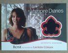 Lauren Cohan 2012 the Vampire Diaries Wardrobe Card M12