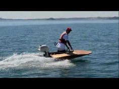 homemade speed boat, minimost (scowturbo) - YouTube
