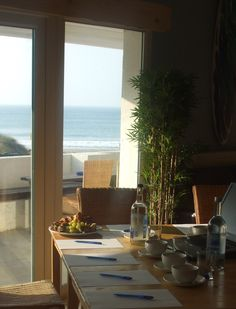 The Boardroom @ Blue Bar, Porthtowan. As close to the beach as you can really get for your wedding!