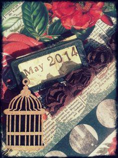 Waiting next spring by ch... #scrapbooking #scrap #vintage #calendary #chbycarolacoch