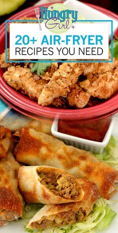 Wonton Recipes, Ww Recipes, Fruit Recipes, Cooker Recipes, Air Fryer Dinner Recipes, Air Fryer Recipes Easy, Hungry Girl Recipes, Healthy Eating Recipes, Healthy Food