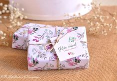 Detalles para bodas románticas jabones florales