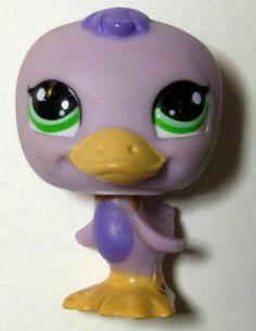 Littlest Pet Shop Duck 1522 Violet Purple   eBay