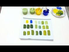 Pintar é fácil - Pintura em Tela - Abstratos - Iniciantes - AULA 5