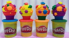 Play Doh Ice Cream, Egg Toys, Eggs, Joy, Cake, Desserts, Channel, Videos, Youtube