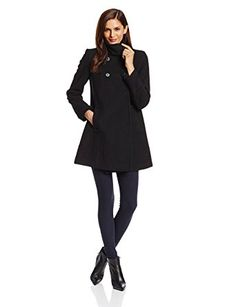 Larry Levine Women's Double-Breasted Plush Coat Review