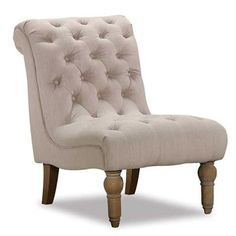 Show details for Hutton Natural Linen Chair