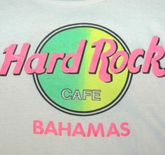 Vtg HARD ROCK CAFE T Shirt TANK TOP Neon USA MADE Rare ROCK MUSIC Concert Tee #HARDROCKCAFE #GraphicTee