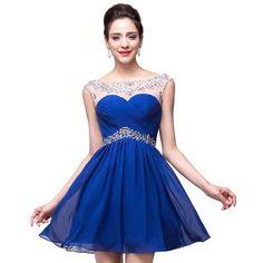 bfab85c68 50 mejores imágenes de vestidos de 15 color azul
