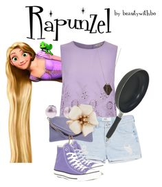 """""""Rapunzel on the hunt✌️"""" by beautywithbo ❤ liked on Polyvore"""