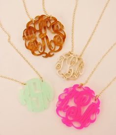 Monograms...!!!! I have one of these LOVE IT