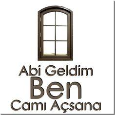 Mehmet Küçükoğlu - Camı Açsana - Kendin Tasarla - HDF Magnet 8x8cm