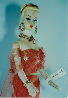 Joshard OOAK make over vintage fashion queen Barbie doll AFKA Joshard Jeff Bouchard