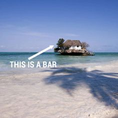 6 bars in the middle of the freaking ocean - I'm dying to go to the Honorable William Wall Bar Now!!