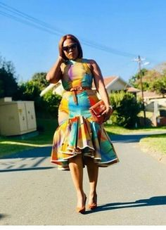 Beautiful And Trendy Ankara Designs Short African Dresses, Latest African Fashion Dresses, African Print Dresses, African Print Fashion, African American Fashion, African Style, Chitenge Outfits, African Print Dress Designs, Ankara Designs
