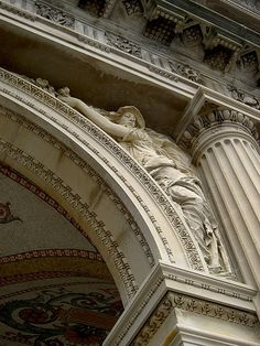 Architectural detail, The Breakers, Vanderbilt Mansion, Newport, Rhode Island Parisian Architecture, Neoclassical Architecture, Architecture Old, Beautiful Architecture, Beautiful Buildings, Architecture Details, The Breakers Newport, Cement Art, Stone Carving