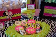 Gone Wild! Lime Green Hot Pink Girls Baby Shower    Freakin' kidding me! where were you weeks ago when i had to plan the freakin thing!